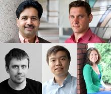 Five New Professors Join the School of Computer Science