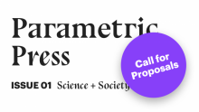 Parametric Press Call for Submissions