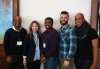 Members of the Constellations leadership team and staff attended SIGCSE and RESPECT 2019. L-R, Jeff Forbes, Lien Diaz, Terry Foster, PK Graff, and Kamau Bobb.