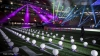 Super Bowl  Halftime Show Lantern Drones on Field